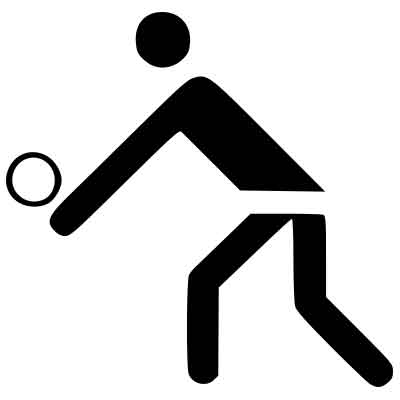 Piktogramm Volleyball